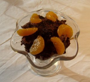 Chokolademusse med silketofu