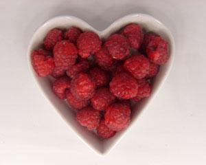 hindbærhjerte