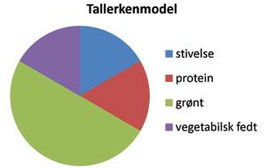 Tallerkenmodel