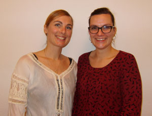 Marie Louise Djernes og Louise Merete Svendsen
